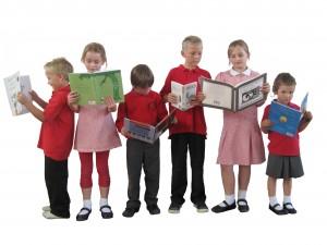 Pupils reading